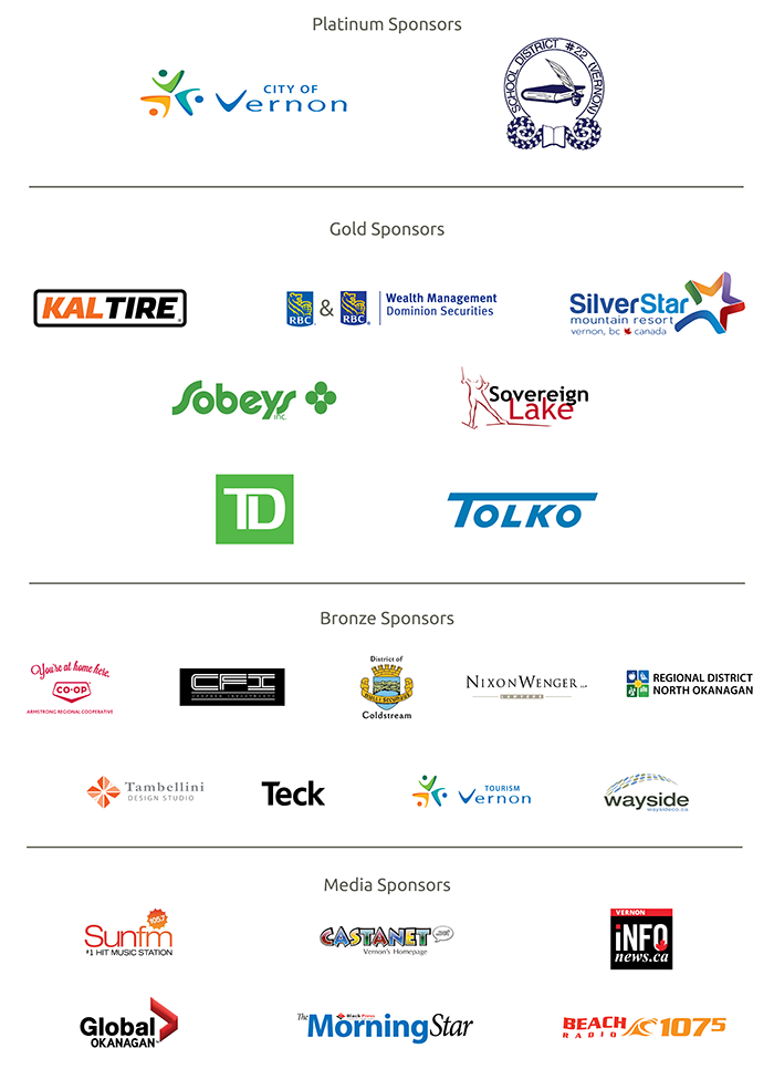 2019 Special Olympics BC Games Sponsors
