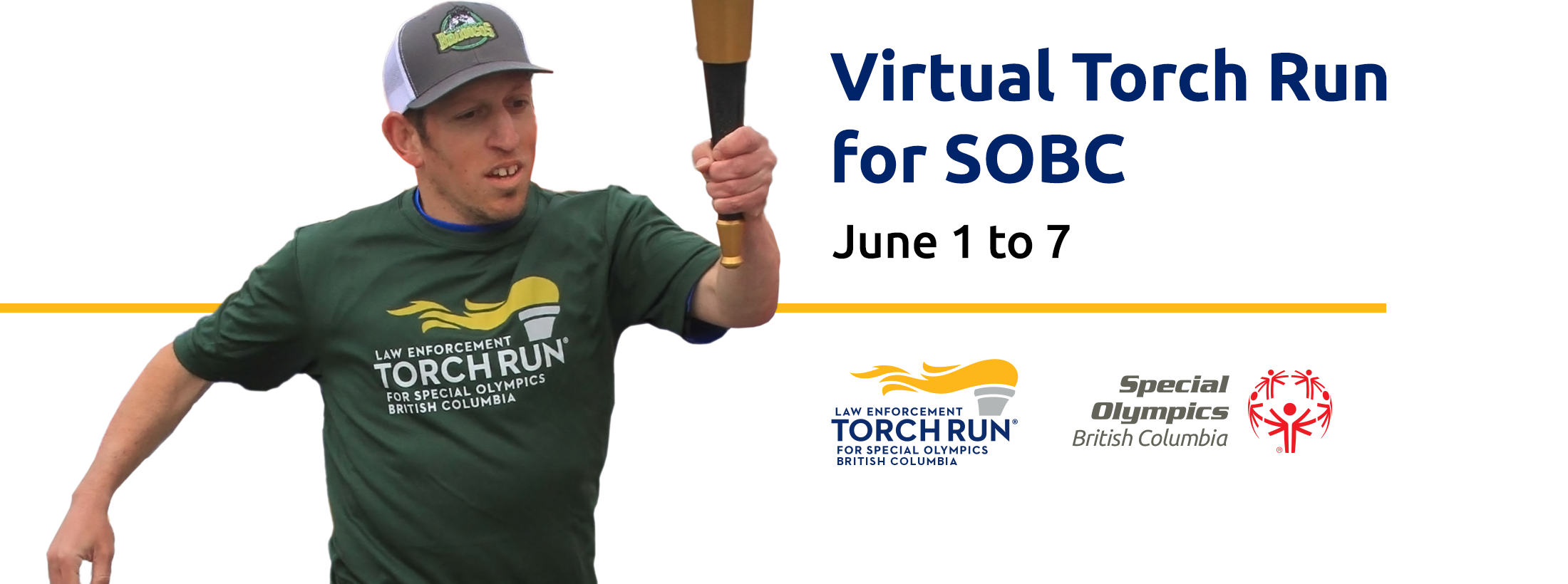 Virtual Law Enforcement Torch Run for Special Olympics BC