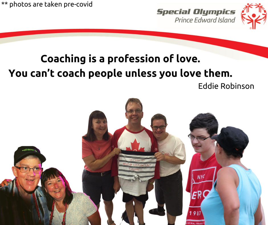 Janet Bradshaw, Special Olympics PEI volunteer coach for over 20 years