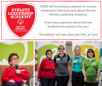 Athlete Leadership Academy webinar