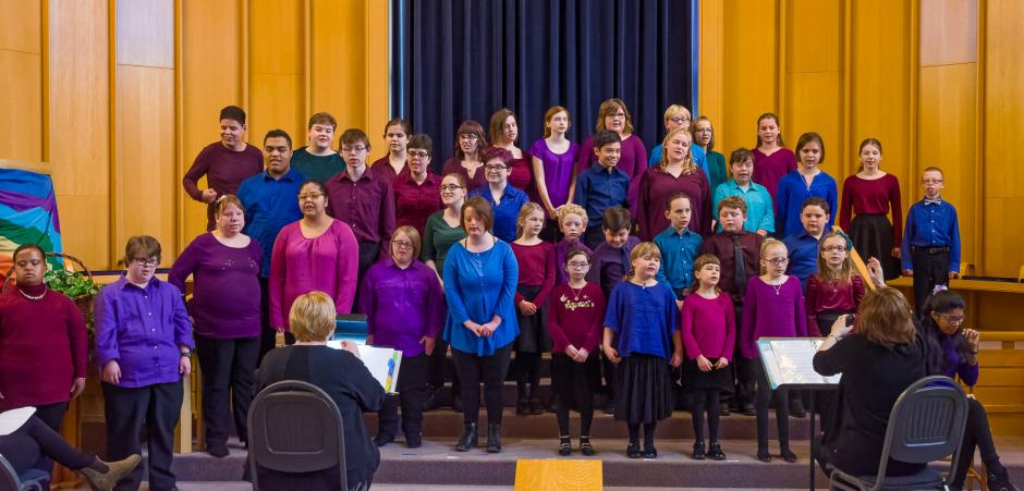 Kids of Note choir performs in concert