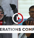 27-year-old Team Ontario 5 Pin bowler Brandon Khan and 52-year-old Team Alberta snowshoer Spencer Stevens compete at the Special Olympics Canada Winter Games Thunder Bay 2020