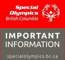 Special Olympics BC health information