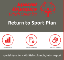 Special Olympics BC Return to Sport Plan principles