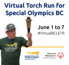 Virtual Torch Run for Special Olympics BC