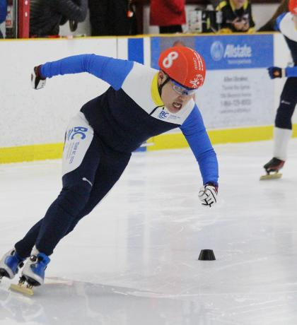 Special Olympics Team BC 2020 speed skater Nicky Chow