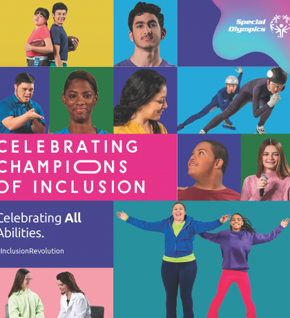 Special Olympics Honouring Champions of Inclusion