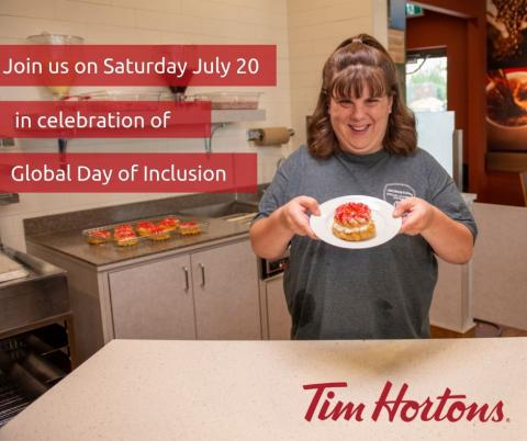 Special Olympics Day of Inclusion Tim Hortons