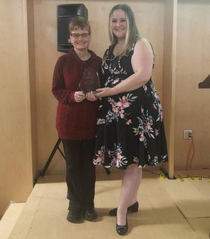 Special Olympics BC Spirit of Sport Award winner 2019