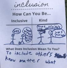 Inclusion Revolution Sports inclusion worksheet